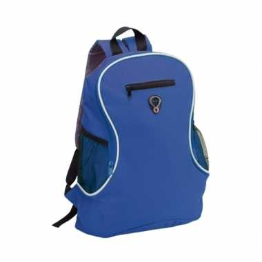 Backpack blauw gymtas