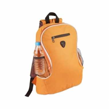 Backpack oranje gymtas