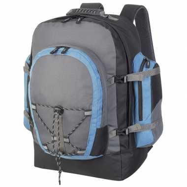 Backpackers gymtas grijs 40 liter