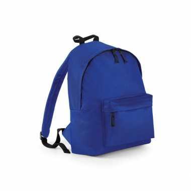 Blauwe gymtas rugzak voor kinderen