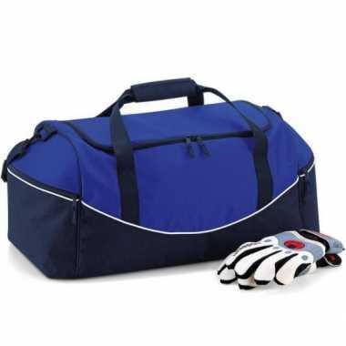 Blauwe gymtassen 30 liter