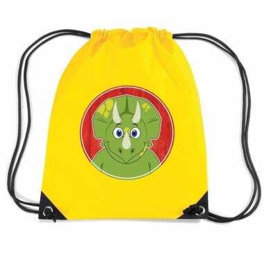Dinosaurus gymtas / gymtas geel voor kinderen