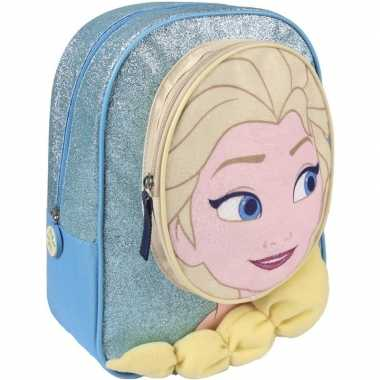 Disney frozen rugzakken/gymtassen 23 x 28 cm elsa voor meisjes/kinder