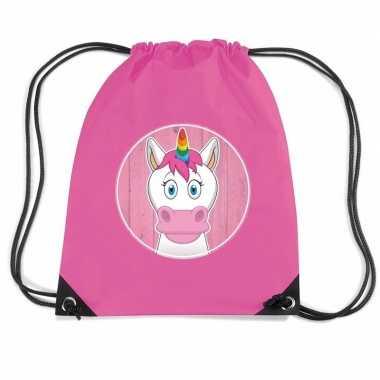 Eenhoorns gymtas / gymtas voor kinderen