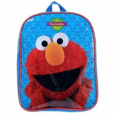 Elmo sesamstraat schooltas/gymtas voor kinderen