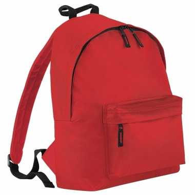 Fel rood gymtas rugzak voor kinderen
