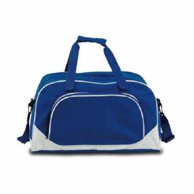 Gymtas blauw 42 cm