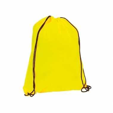 Gymtasje in neon geel