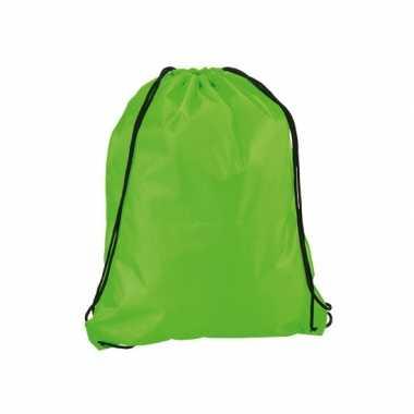 Gymtasje in neon groen