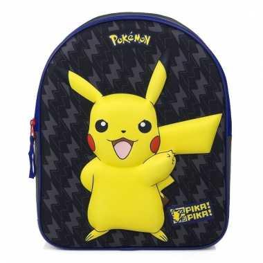 Kinder gymtas pokemon 3d 31 cm