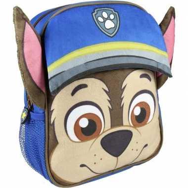 Nickelodeon paw patrol rugzakken/gymtassen 23 x 28 cm chase voor jong