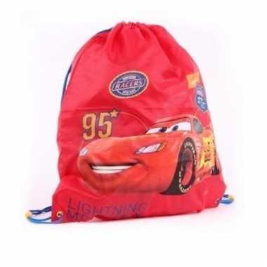Rode cars gymtasjes voor jongens