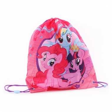 Roze my little pony gymtasjes voor meisjes