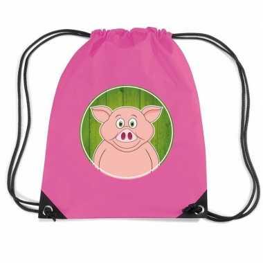 Varkens gymtas / gymtas voor kinderen