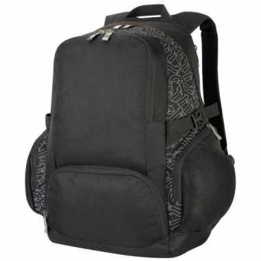 Zakelijke gymtas zwart 30 liter