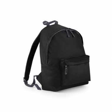 Zwarte gymtas rugzak voor kinderen
