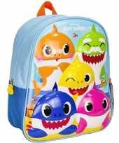 Baby shark school gymtas rugzak voor peuters kleuters kinderen