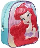 Disney de kleine zeemeermin rugzakken gymtassen 25 x 31 cm voor meisjes kinderen