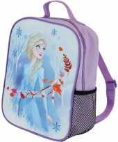 Disney frozen rugzakken gymtassen lilapaars 21 x 27 cm elsa voor meisjes kinderen