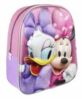 Disney minnie mouse katrien duck school gymtas rugzak voor peuters kleuters kinderen
