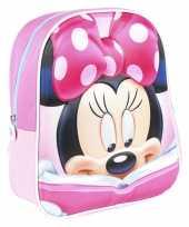 Disney minnie mouse met boek school gymtas rugzak voor peuters kleuters kinderen