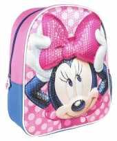 Disney minnie mouse pailletten school gymtas rugzak voor peuters kleuters kinderen