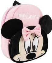 Disney minnie mouse pluche gymtas rugzak voor peuters kleuters kinderen