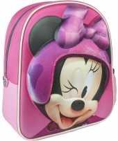 Disney minnie mouse rugzakken gymtassen 25 x 31 cm voor meisjes kinderen