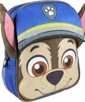Nickelodeon paw patrol rugzakken gymtassen 23 x 28 cm chase voor jongens kinderen
