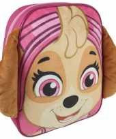 Nickelodeon paw patrol rugzakken gymtassen 23 x 28 cm skye voor meisjes kinderen