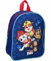 Paw patrol pups team paw school gymtas rugzak voor peuters kleuters kinderen