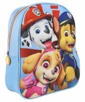 Paw patrol school gymtas rugzak voor peuters kleuters kinderen