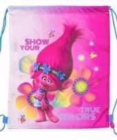 Trolls gymtasjes voor kinderen